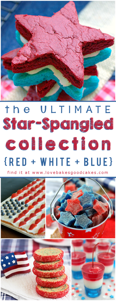 The ULTIMATE Star-Spangled Collection! (Red White Blue) collage.