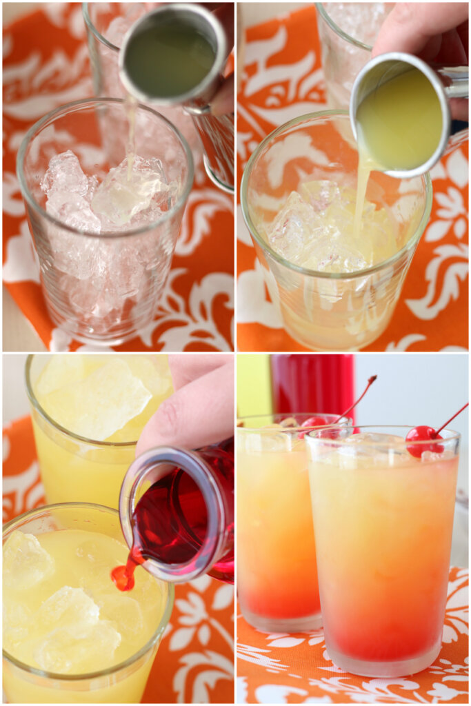 how to make a limoncello sunrise