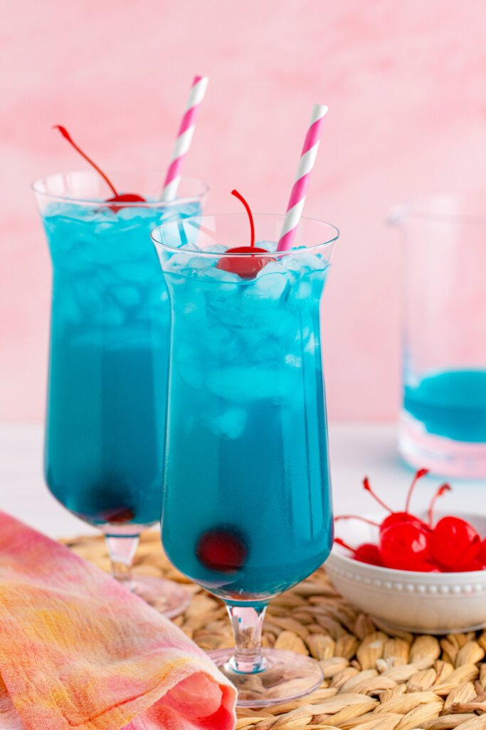 two ocean water cocktails