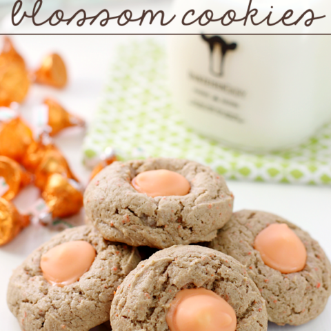 Carrot Cake Blossom Cookies on a white plate.