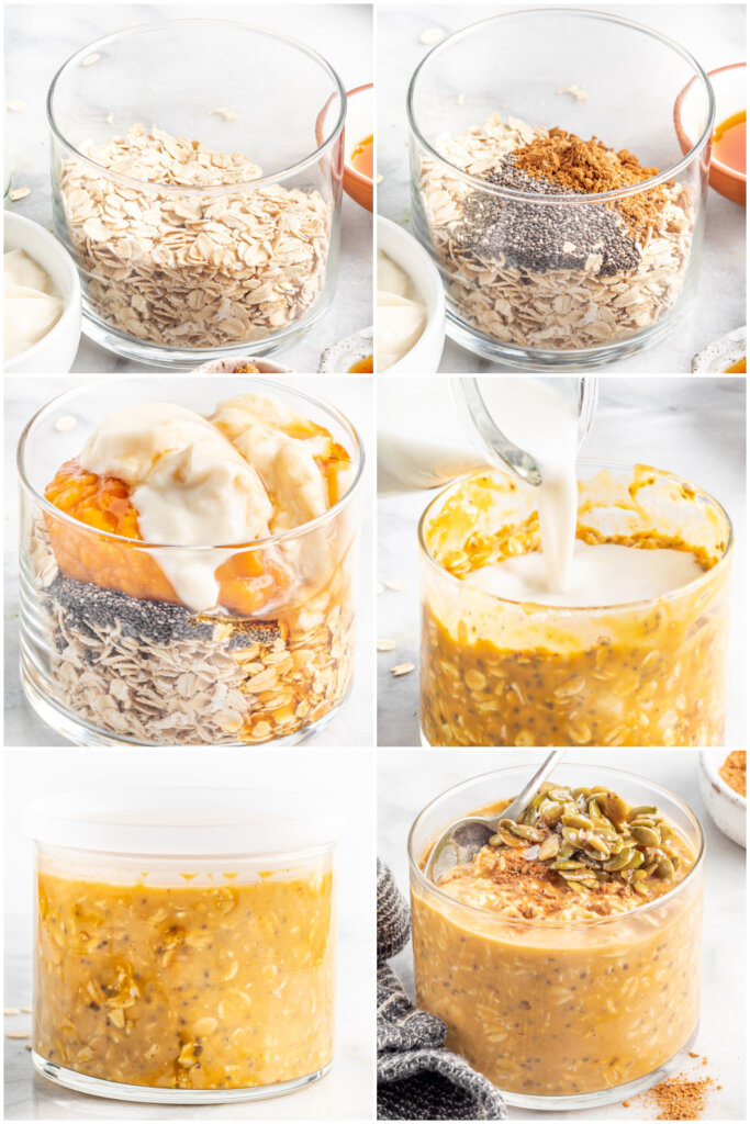 how to make pumpkin pie overnight oatmeal