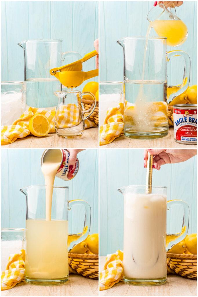 how to make creamy lemonade